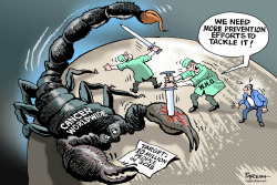 Cancer threat by Paresh Nath