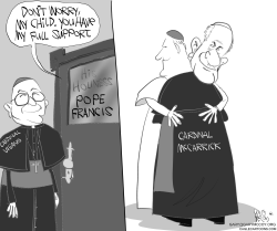 Pope Protects McCarrick by Gary McCoy