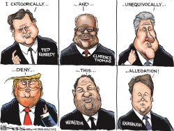 Kavanaugh Accusations by Kevin Siers