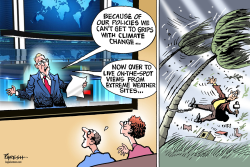 Hurricanes & climate change by Paresh Nath