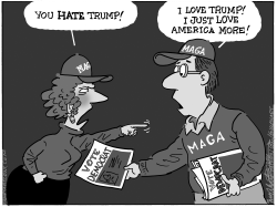 Hate trump by Bob Englehart