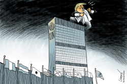 Trump at the UN by Patrick Chappatte