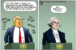 Trump at the United Nations by Bruce Plante