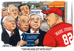 Republican Senators Ask to Hide Out With Mark Judge by RJ Matson