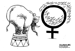 Republicans and women by Jimmy Margulies