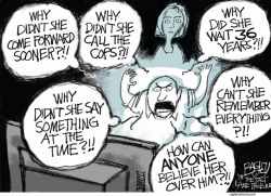 Believe the Woman by Pat Bagley
