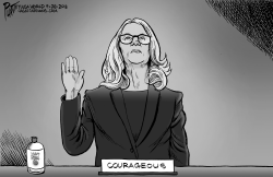 Dr Christine Blasey Ford by Bruce Plante