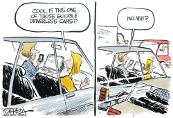 Driverless Cars by Jeff Koterba