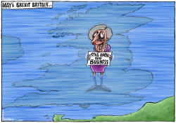 Theresa May's Brexit Britain by Brian Adcock