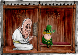 Pope Visite Ireland by Brian Adcock