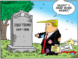 Daddy's Money by Bob Englehart