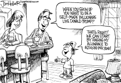 Self Made Billionaire by Joe Heller