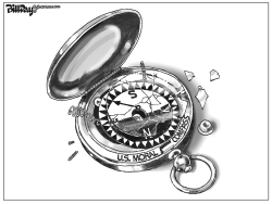 US Moral Compass by Bill Day