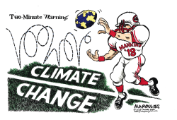 UN warning on Climate Change color by Jimmy Margulies