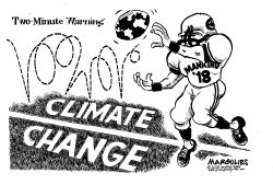 UN warning on Climate Change by Jimmy Margulies