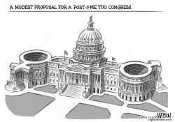 Modest Proposal for a Post Me Too Congress by RJ Matson
