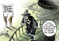 Report on climate calls for action by Patrick Chappatte