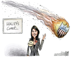 Nikki Haley by Adam Zyglis