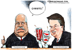 Kavanaugh on Supreme Court by Dave Granlund