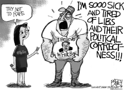 #MeToo SCOTUS Political Correctness by Pat Bagley