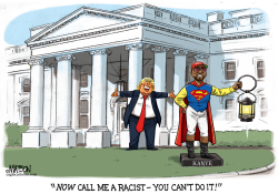 Kanye West at White House by RJ Matson