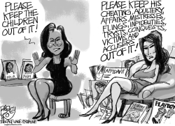 First Ladies by Pat Bagley