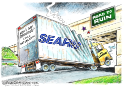 Sears bankruptcy by Dave Granlund