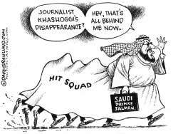 Saudi hit squad by Dave Granlund