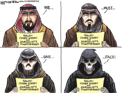 The Khashoggi Cover Story by Kevin Siers