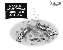 Saudi arms deal by John Cole