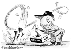 Red Sox AL Champs 2018 by Dave Granlund