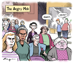 The Angry Mob by Tim Eagan