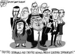 Friends With Emoluments by Pat Bagley