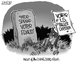LOCAL NC Voter Fraud living dead by John Cole