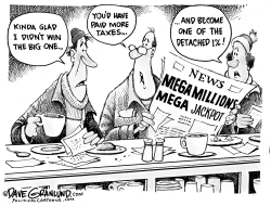 Mega Millions and losers by Dave Granlund