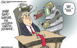 Bombs by Mike Keefe