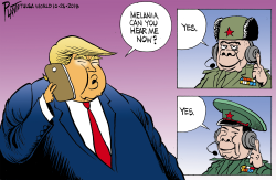 Trump's phone by Bruce Plante