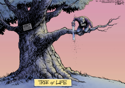 Tree of Life by Nate Beeler