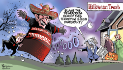 Trump's immigrant issue by Paresh Nath