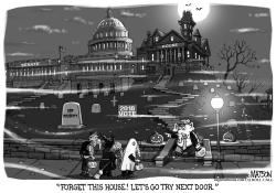 Haunted House Republicans by RJ Matson