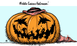 Middle Eastern Halloween by Emad Hajjaj