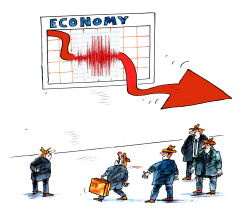 Earthquake economic by Pavel Constantin