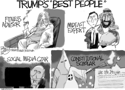 Trump Best People by Pat Bagley