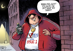LOCAL OH Issue 1 Pusher by Nate Beeler