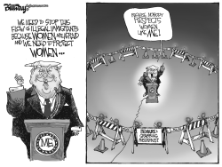 Woman Respecter in Chief by Bill Day