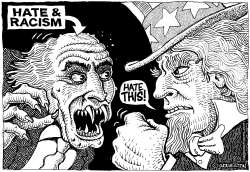 Hate and Racism by Wolverton