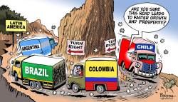 Latin America turns right by Paresh Nath