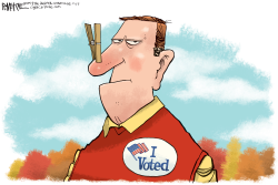 I Voted by Rick McKee