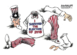 2018 Election results color by Jimmy Margulies