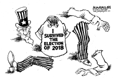 2018 election results by Jimmy Margulies